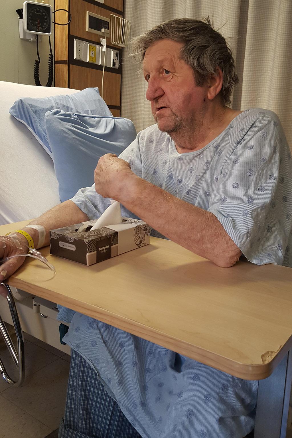 Jack in Hospital